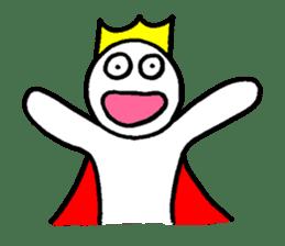 Sticker of the super freak  king sticker #2189671