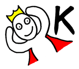 Sticker of the super freak  king sticker #2189672