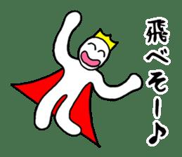 Sticker of the super freak  king sticker #2189673