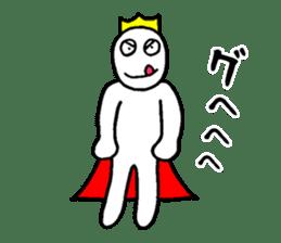 Sticker of the super freak  king sticker #2189680