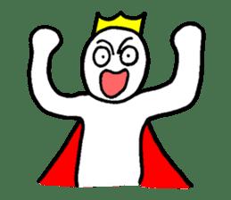 Sticker of the super freak  king sticker #2189686