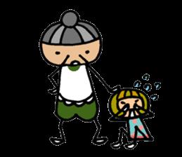 Chikuho girl sticker #2191156
