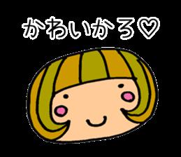 Chikuho girl sticker #2191160