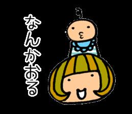 Chikuho girl sticker #2191162