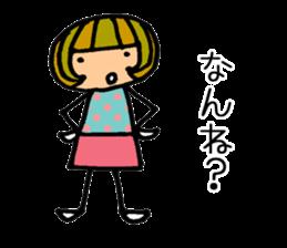 Chikuho girl sticker #2191163