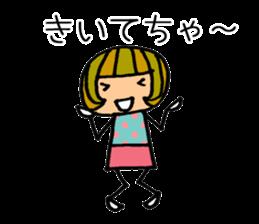 Chikuho girl sticker #2191167