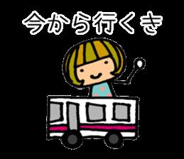 Chikuho girl sticker #2191168