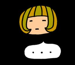 Chikuho girl sticker #2191169