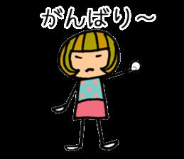 Chikuho girl sticker #2191170