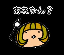 Chikuho girl sticker #2191173