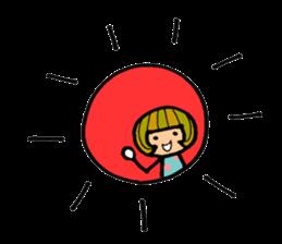 Chikuho girl sticker #2191174