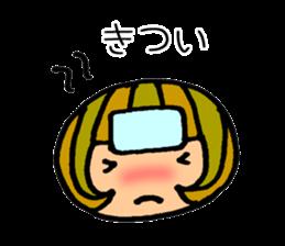 Chikuho girl sticker #2191176