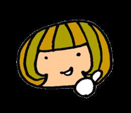 Chikuho girl sticker #2191178