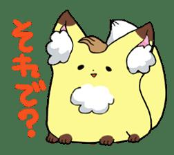 A lovely fox. sticker #2192308