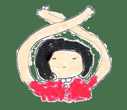 KawaiiGirl sticker #2192430