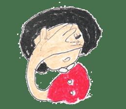 KawaiiGirl sticker #2192440