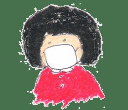 KawaiiGirl sticker #2192444