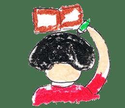 KawaiiGirl sticker #2192454
