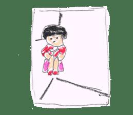 KawaiiGirl sticker #2192455