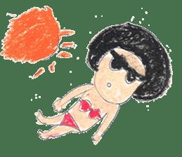 KawaiiGirl sticker #2192458