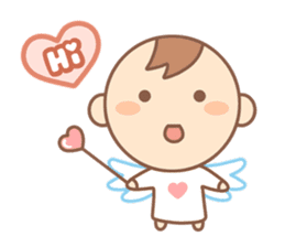 Lovely Angel sticker #2194224
