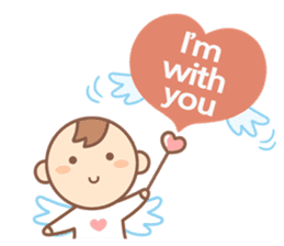Lovely Angel sticker #2194236