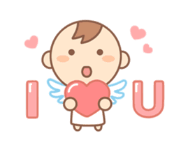 Lovely Angel sticker #2194239