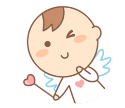 Lovely Angel sticker #2194242