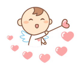 Lovely Angel sticker #2194263