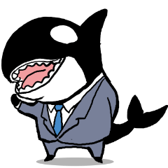 A Workaholic Orca.