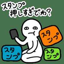 Human being sticker 2 sticker #2195465