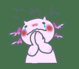 salamander cat sticker #2196073
