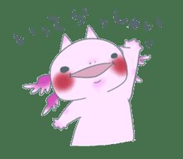 salamander cat sticker #2196074
