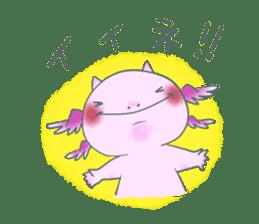 salamander cat sticker #2196080