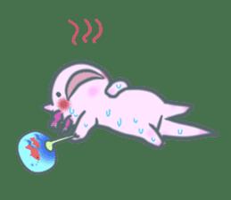 salamander cat sticker #2196096