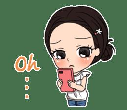 "StampGirl ""Smartphone Life"" English sticker #2197977"