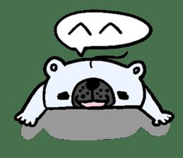 Pure white bear SOMARI sticker #2198114