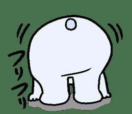 Pure white bear SOMARI sticker #2198127