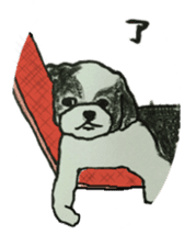 I am Shih Tzu sticker #2199943