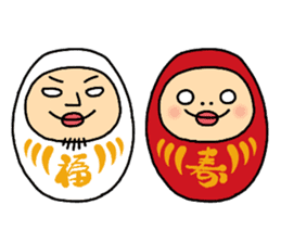 Shirome&Omame part6 sticker #2200392