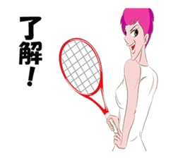 Tennis Girl sticker #2200706