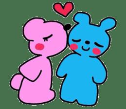 hiro and pleasant friends sticker #2200999