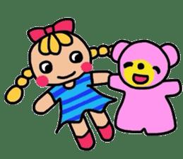 hiro and pleasant friends sticker #2201016
