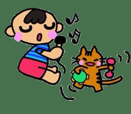 hiro and pleasant friends sticker #2201019
