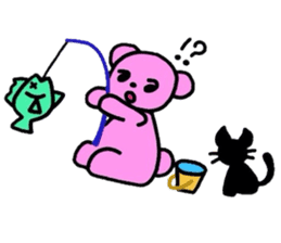 hiro and pleasant friends sticker #2201022