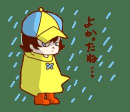 Daily abiding Mr.Amehurashi(Aplysia) sticker #2201227
