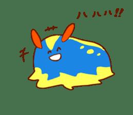 Daily abiding Mr.Amehurashi(Aplysia) sticker #2201241