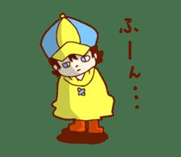 Daily abiding Mr.Amehurashi(Aplysia) sticker #2201245
