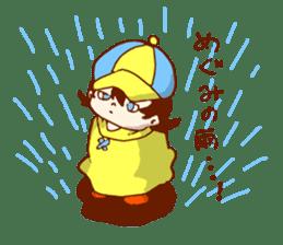 Daily abiding Mr.Amehurashi(Aplysia) sticker #2201254