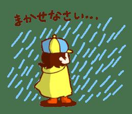 Daily abiding Mr.Amehurashi(Aplysia) sticker #2201255